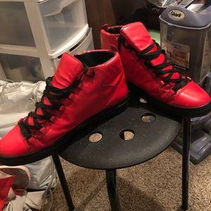 Balenciaga Men's Arena High Sneakers
